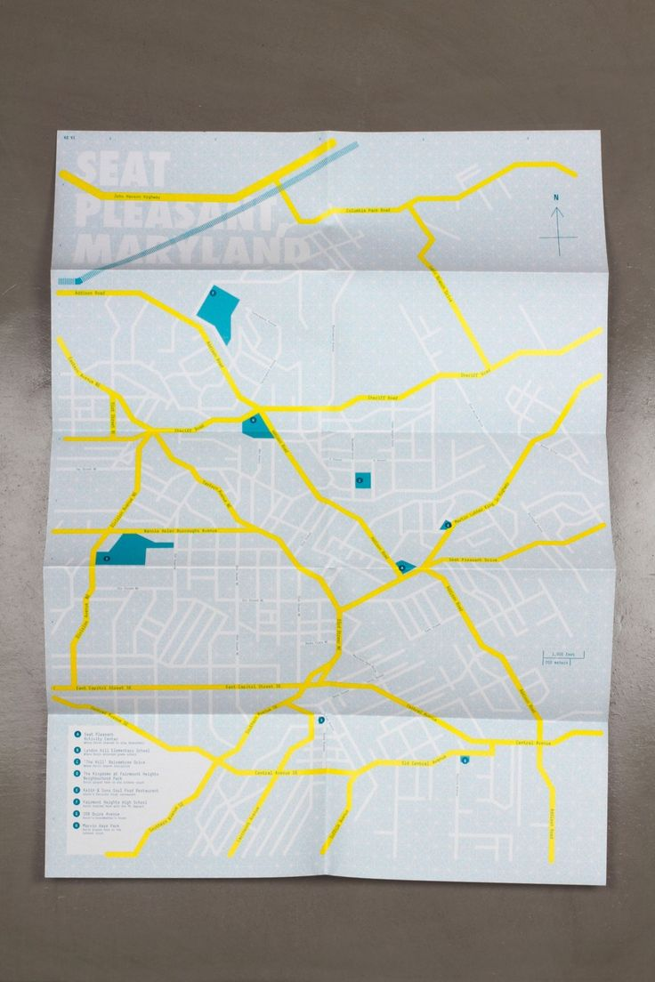Paul Sahre Selected Work Future Map in