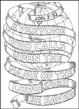 Scripture doodles where you have to colour in the actual words and letters of a Bible verse are a great way to teach our kids how to memorise Scripture
