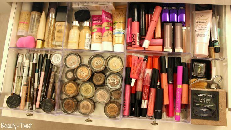 Makeup Organization & Storage Update: Beauty-Twist.com