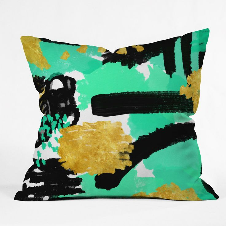 Rebecca Allen Dinner With Doris Day Throw Pillow | DENY Designs Home Accessories