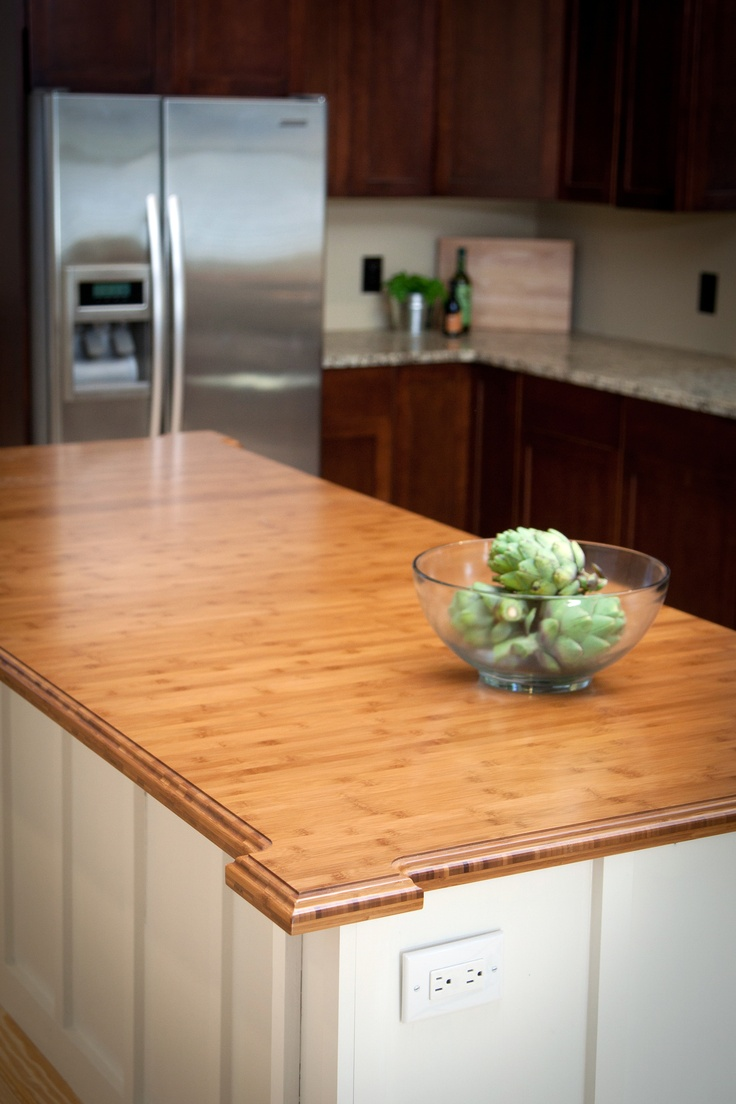 Heritage Wood Countertops In Bamboo   Eco Friendly Kitchen Countertops.  Heritage Wood Is Made By