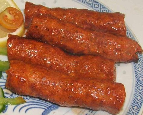 Shahi Seekh Kebab recipe. Beef or Lamb Mince Blended in herbs and spices, cooked in oven or fry or grill it either way tastes splended when served with mint sauce. Posted by Habib Oil.