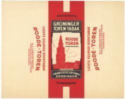 Ooit telde Groningen vele grote en kleine fabrieken die pruimtabak of rookwaren produceerden. Tegenwoordig kennen veel mensen Niemeyer nog, maar de Groninger tabaksindustrie was dus een stuk groter. Een mooi voorbeeld is de firma F. Lieftinck. Begonnen als een zelfstandig bedrijfje, maar later opgeslokt door grote broer Niemeyer.