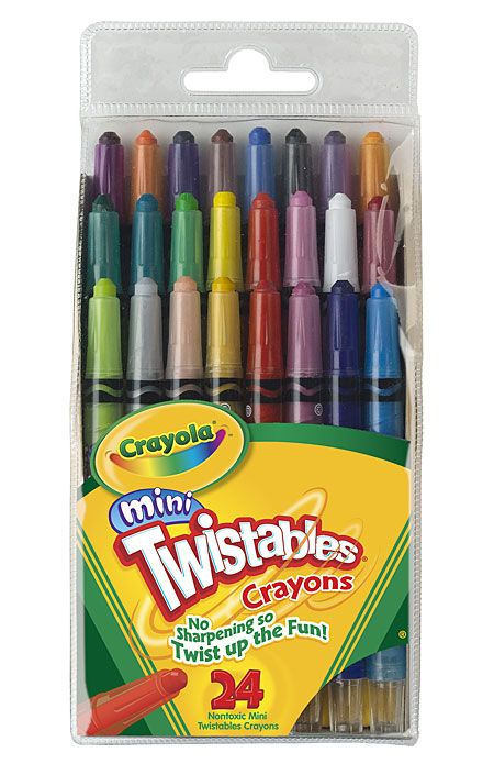 24 ct. Mini Twistables Crayons $5.95