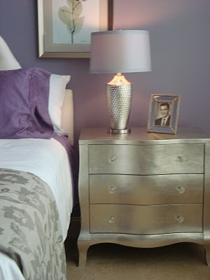 how I want my bedroom? grey instead of the sparkly silver?