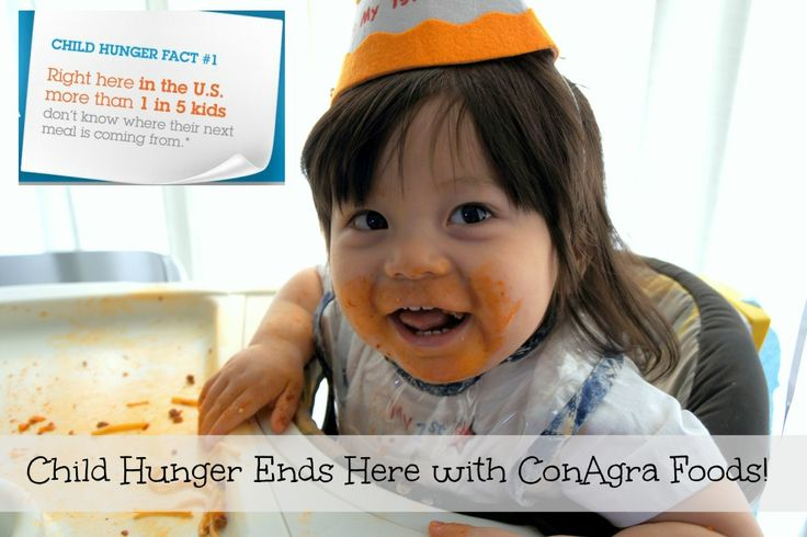 You Can Help End Child Hunger with ConAgra Foods #childhunger