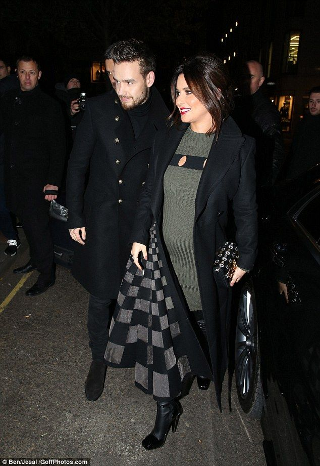 No holding her back:Cheryl revealed she isn't letting her burgeoning baby bump slow her down, as she is opening a new charitable centre in her hometown of Newcastle