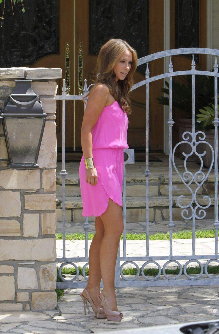 Pink dress/ Jennifer love Hewitt❤
