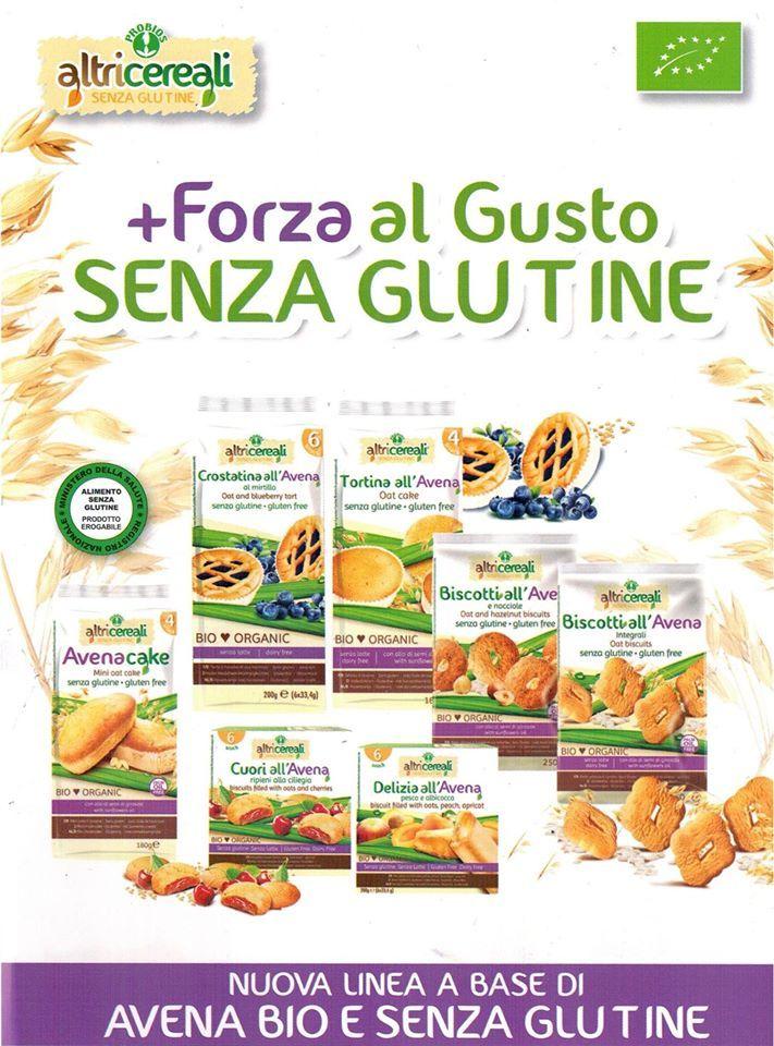 Nuova linea a base di #Avena #Bio e #Senzaglutine #GlutenFree
