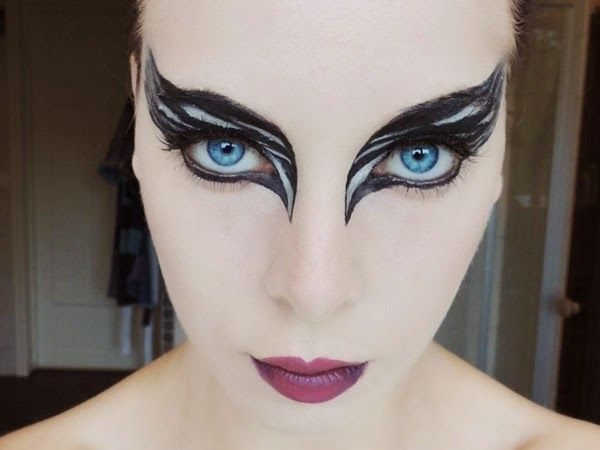 ideas fciles de maquillaje de halloween para mujer