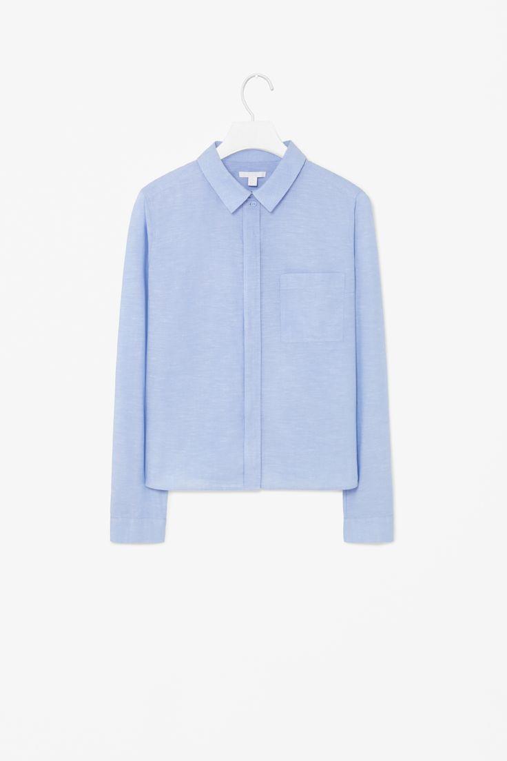 Cotton linen shirt, COS, 490 kr.