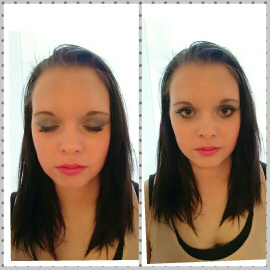 Modell Elin sofia. Makeup by me