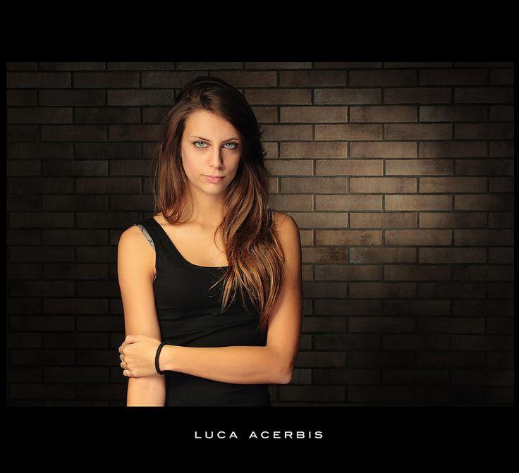 Photographer Luca Acerbis. Model Angela Alberti. From Brescia.