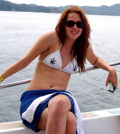 Kristen Stewart Loves Weed and That Makes Her Hot