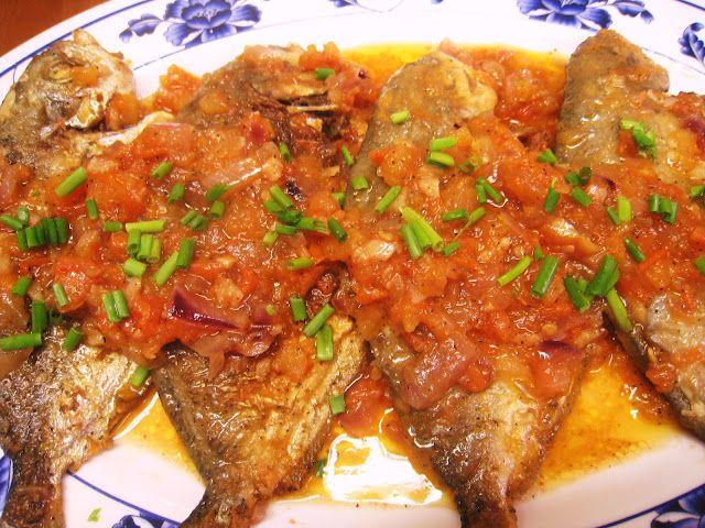 Fish Sarciado Filipino Recipe