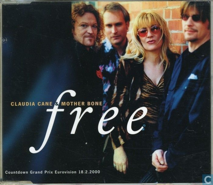 """Free"" performed by Claudia Cane & Mother Bone. German national finale 2000. I doubt that it is possible to make a song that sounds more like ""I'm sailing"". #RipOff"