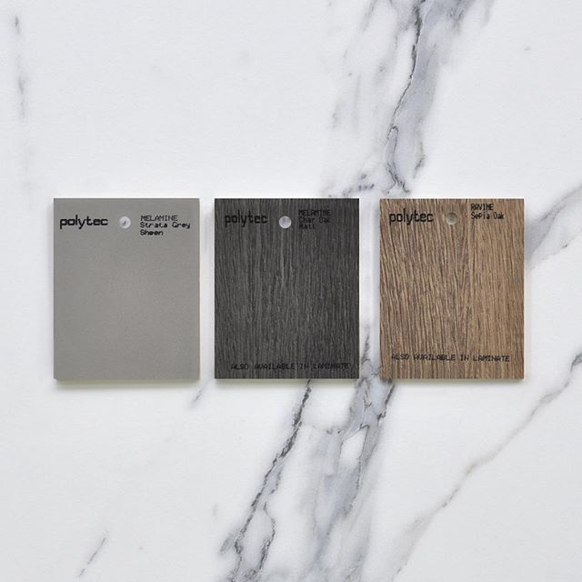 Create your look This versatile neutral palette will allow for adaptation to suit any style from traditional to contemporary and everything in between.  #polytec #polytectips #polytecinspiration #polytecravine #kitcheninspo #interiordesign #colourpalette