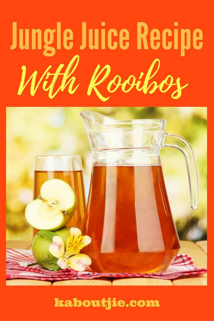 Jungle Juice Recipe with Rooibos - increased energy and boost breast milk production.  #junglejuice #junglejuicerecipe #junglejuicerecipewithrooibos #rooibos #increasebreastmilk #breastfeeding #lactation #energyformoms #newmom