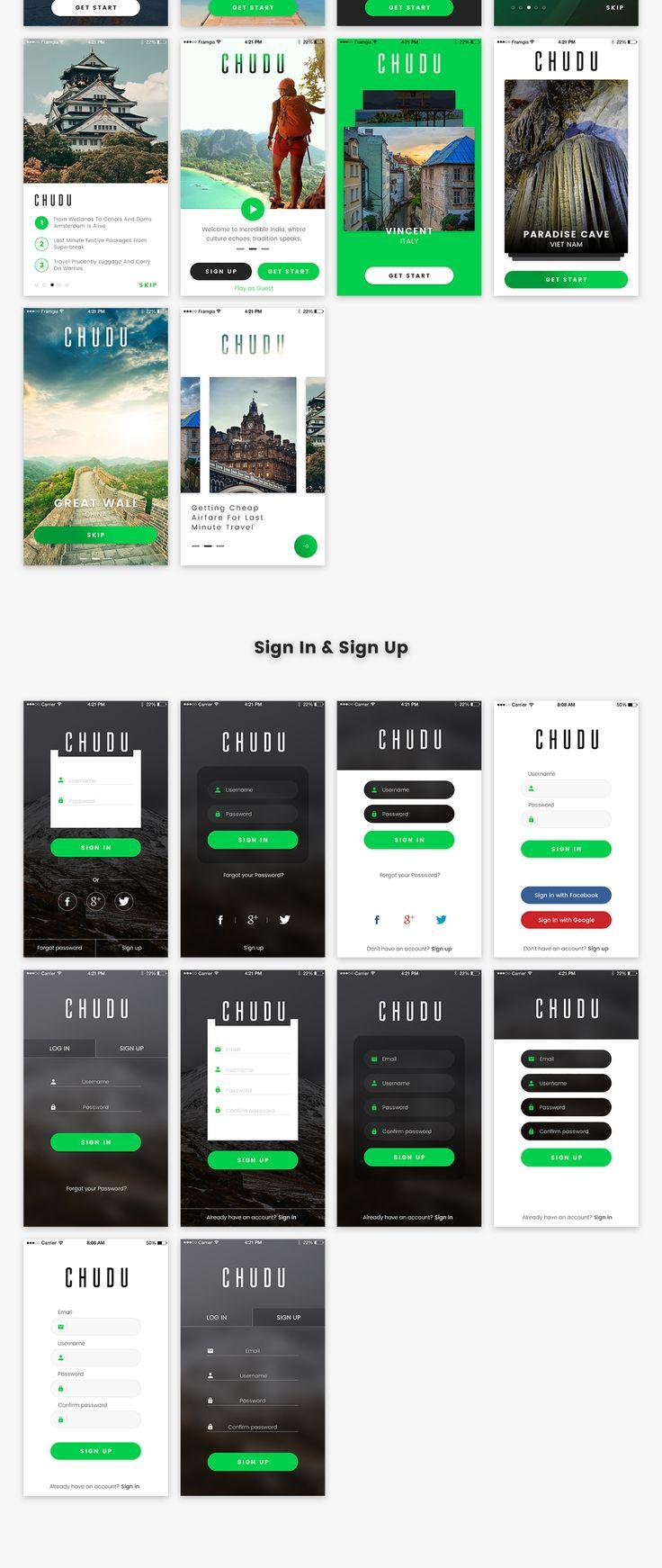UI8 — Products — Chudu Mobile UI Kit