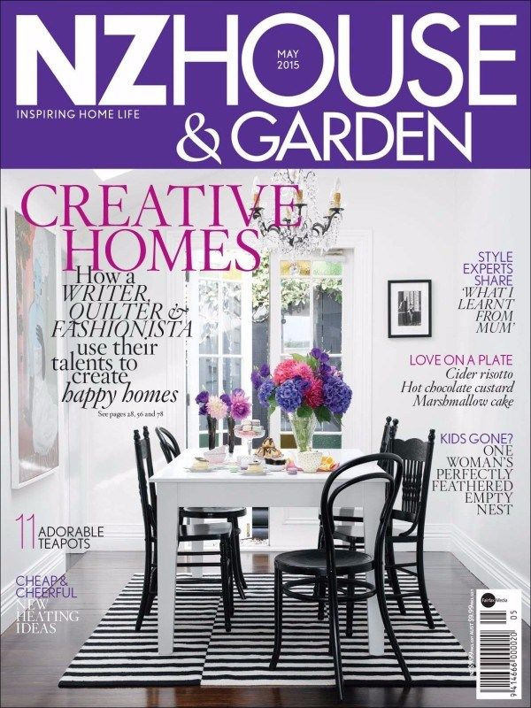 NZ House & Garden Magazine releases #May2015Issue with the new articles on Creative Homes. #NZHouseandGarden #HomeDecor http://goo.gl/dDA7h2?utm_source=facebookNZ House & Garden Magazine releases #May2015Issue with the new articles on Creative Homes.  #NZHouseandGarden #HomeDecor