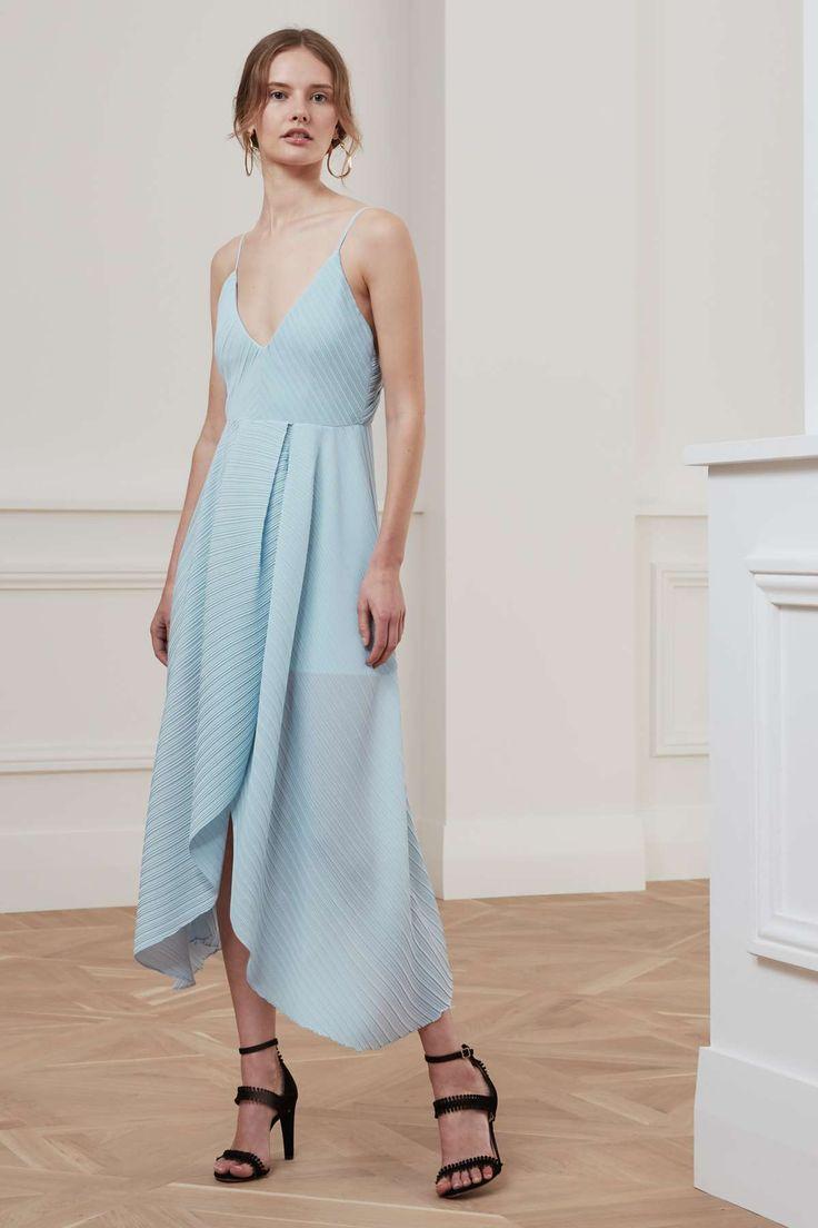 LISTEN OUT DRESS pastel blue