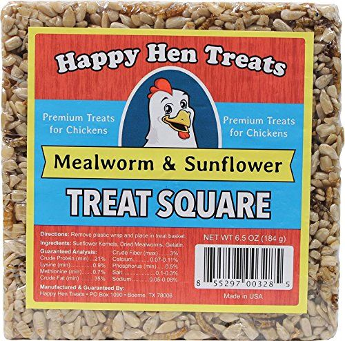 Happy Hen Treats Treat for Pets, Mealworm and Sunflower, 6.5-Ounce >>> Unbelievable  item right here! (This is an amazon affiliate link. I may earn commission from it)