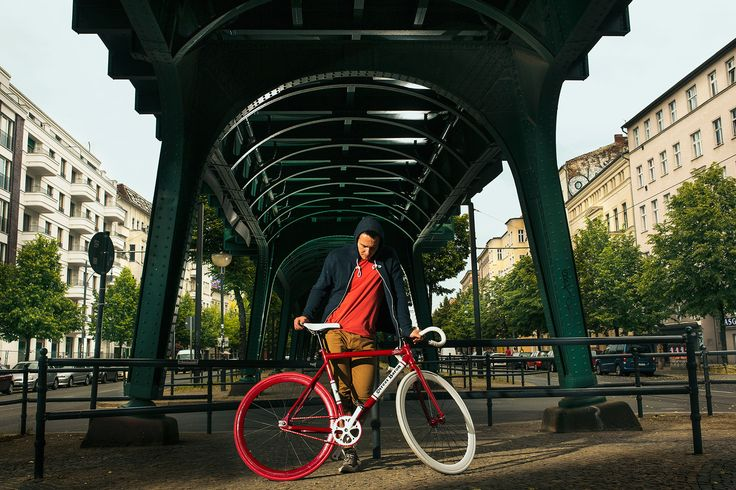 The Street Baron - custom, hand painted fixie / single speed from LOCA Bikes…