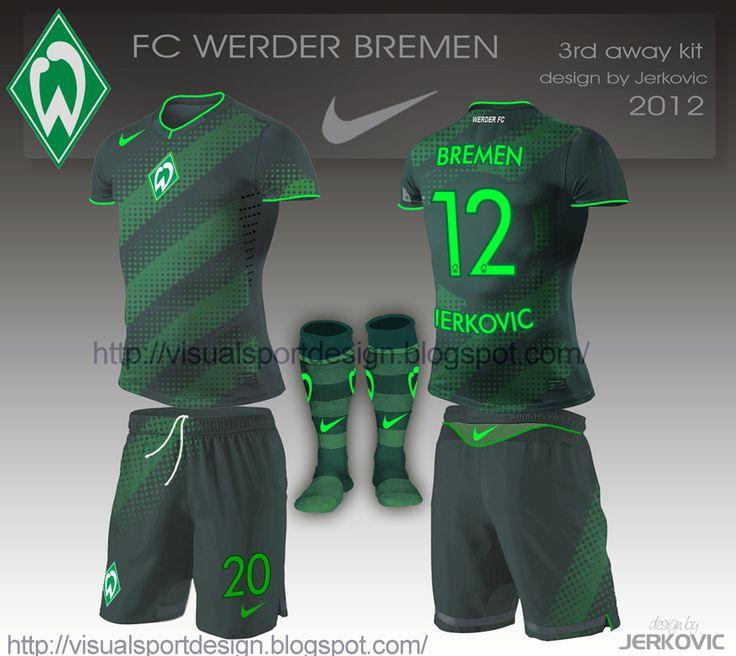 Visual Football Fantasy Kit Design: FC Werder Bremen Nike