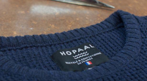HOPAAL, la startup Toulousaine lance « Le Pull du Futur ».