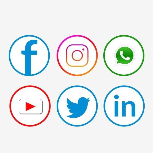 Socialnye Media Nabor Znachok Facebook Whatsapp Youtube Facebook Whatsapp Ikony Ikonki Youtube Png I Psd Fajl Png Dlya Besplatnoj Zagruzki Social Media Icons Facebook Icons Media Icon
