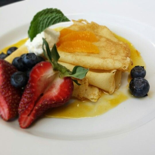 Another version of Crepe Suzette