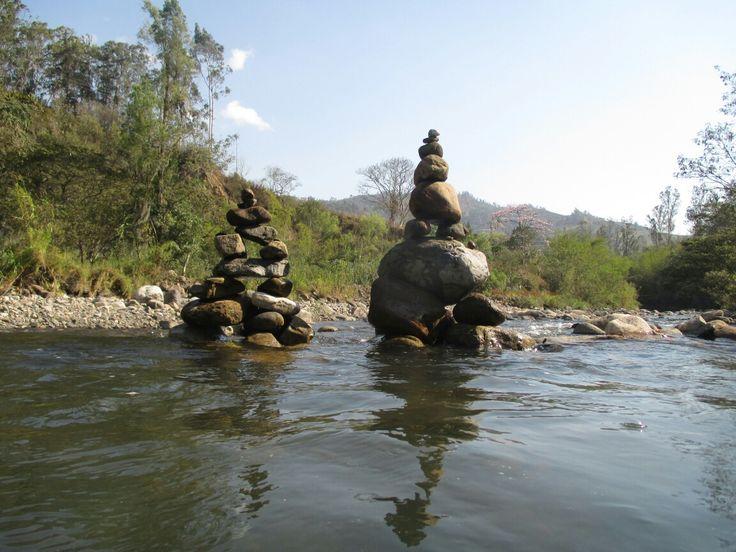 #River #Stones #calm #& #doit Fómeque. Cundinamarca