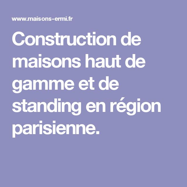 50 best NOS REALISATIONS images on Pinterest Mansions, Mobile home - aide pour construire une maison