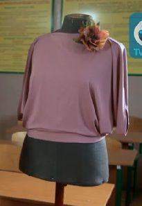 Оригинальная блуза из круга. Обсуждение на LiveInternet - Российский Сервис Онлайн-Дневников