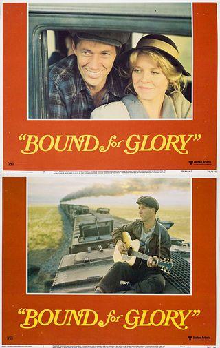 Bound for Glory 1976 U.S. Lobby Card Set of 8