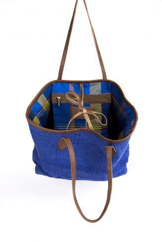 Leren, stoffen en handgemaakte schoudertassen | Maiq Amsterdam tassen