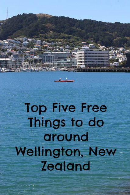 Our favourite free things to do around Wellington, New Zealand