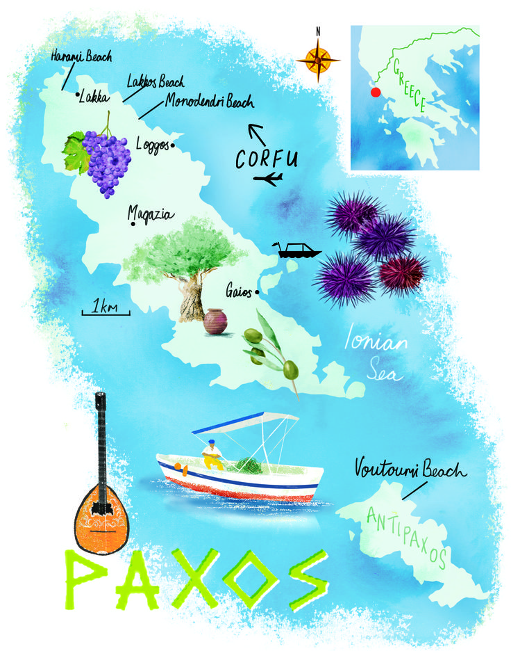 Paxos map by Scott Jessop, April 2016 issue