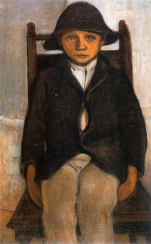 Władysław Ślewiński - Sierota z Poronina, 1912