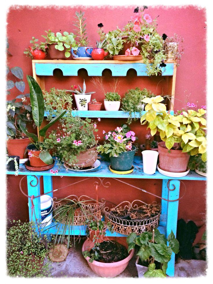 Mueble para las plantas
