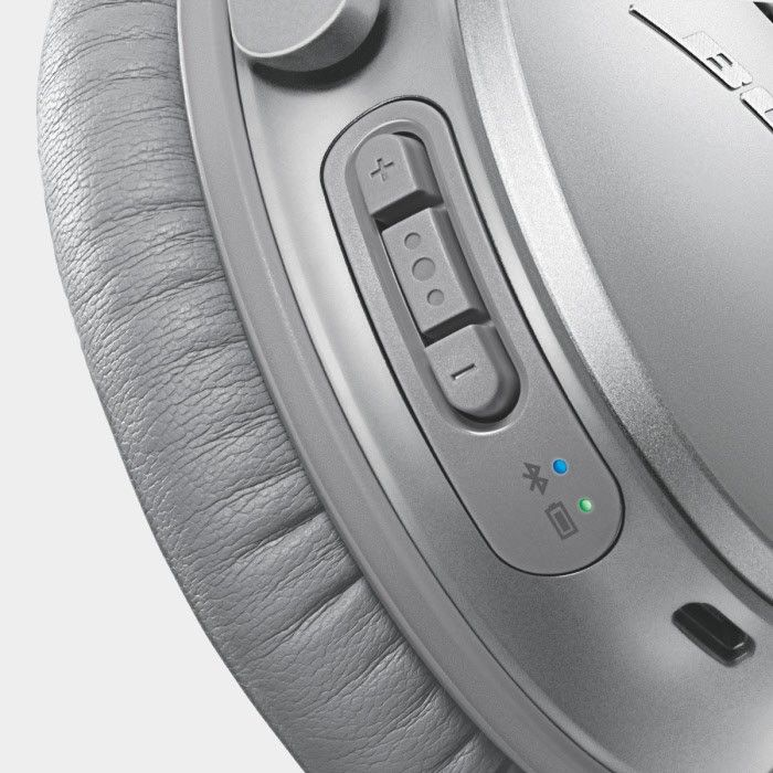 The Bose® QuietComfort® 35 Noise Cancelling® wireless headphones are the…