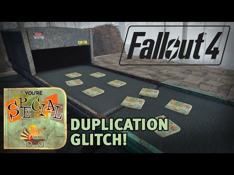 Fallout 4 Your S P E C I A L! Duplication glitch NOT PATCHED