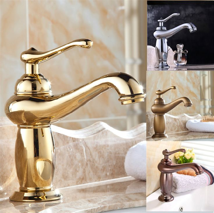 25+ Best Ideas About Gold Faucet On Pinterest