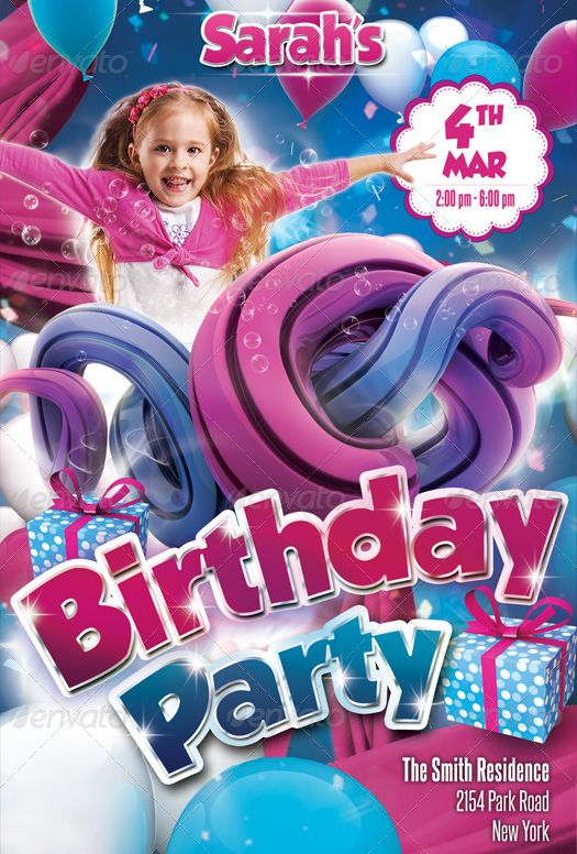 Birthday Bash Flyer Maker