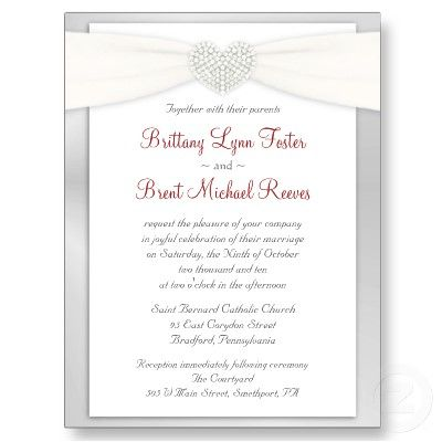 25 best ideas about Wedding Invitation Wording Samples on – Sample Wedding Invitation Format