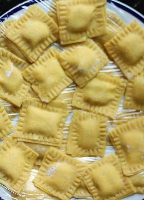 Gluten Free Raviolis- who knew, egg yolks make all the difference! #glutenfreeratiorally What a great recipe for gluten free pasta!