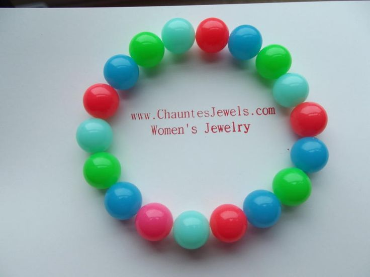 Rainbow Bracelet by Jewelryonthego