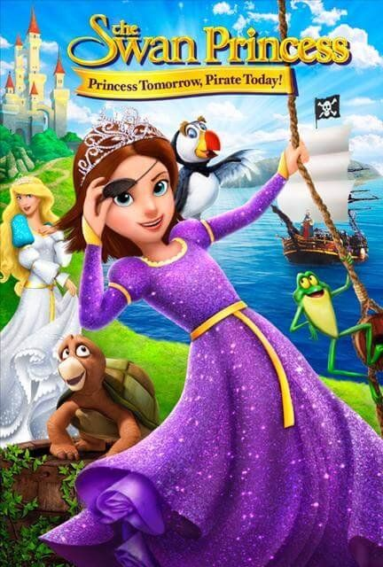 The Swan Princess DVD: Princess Tomorrow, Pirate Today!