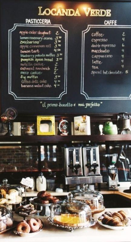 Caf 233 Chalkboard Menu ☕ Chalkboard Pinterest