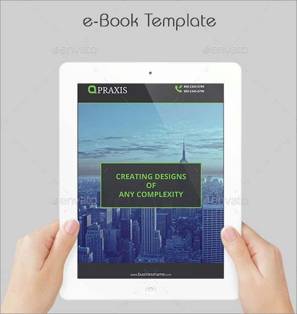 100 awesome photo realistic corporate ebook templates pinterest